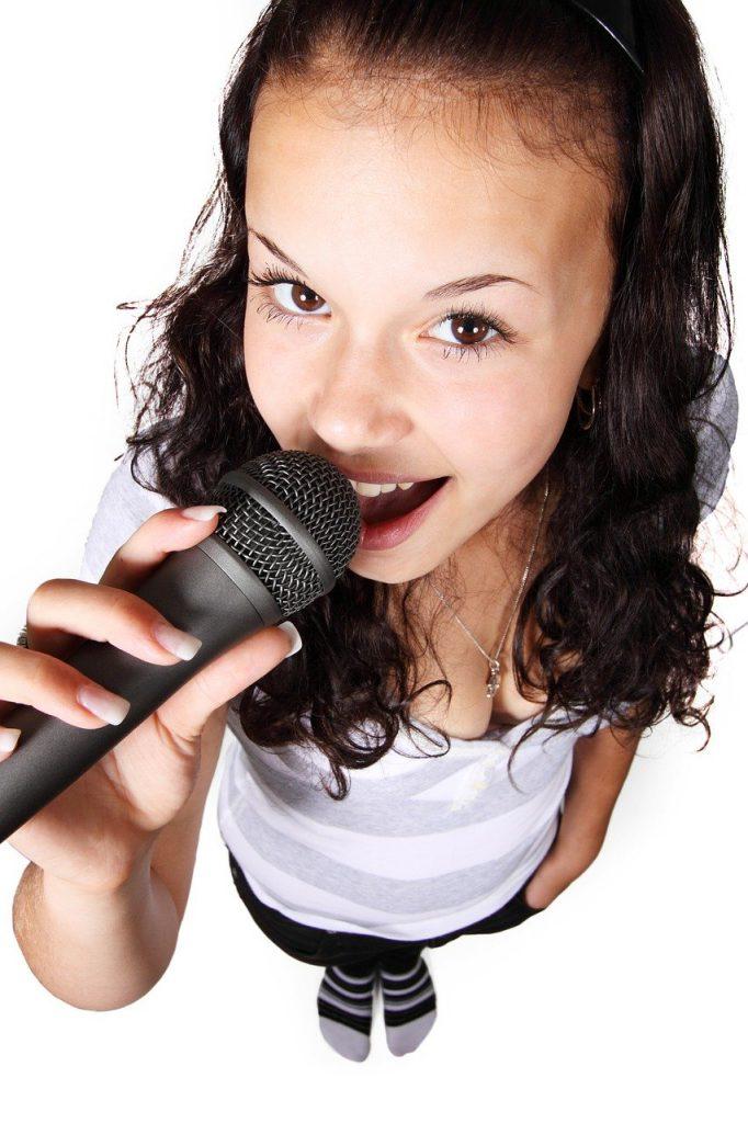 audio, female, girl
