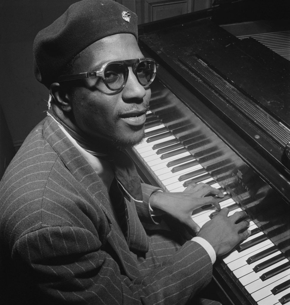 thelonious sphere monk, portrait, jazz pianist and composer
