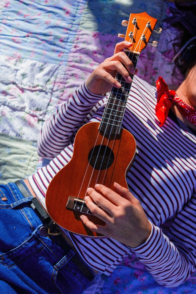 ukulele, music, instrument