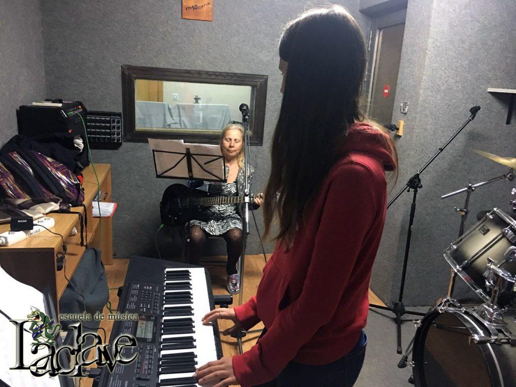 Instalaciones de la Escuela de música La Clave de Puerto Sagunto